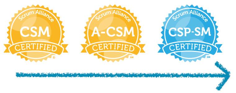 Certified ScrumMaster by Scrum Alliance